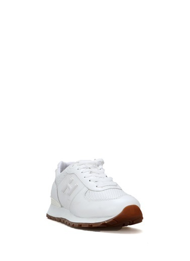 Hammer Jack Hakiki Deri Krep Kadın Ayakkabı 102 19250P-G Beyaz